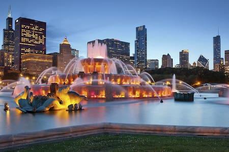 Steps from Downtown & Next to Millennium Park! - Chicago - Condominium