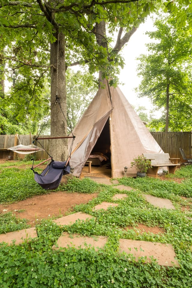 Tepee in the City!