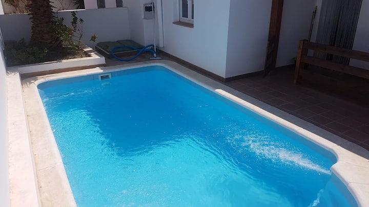 Apartamento el molino con piscina privada.
