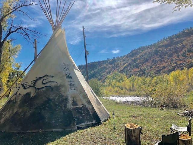 Dolores Riverside Tipi- Cannabis Friendly!