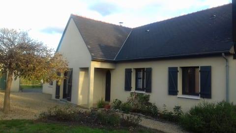 Hébergement calme et agréable proche de Saumur