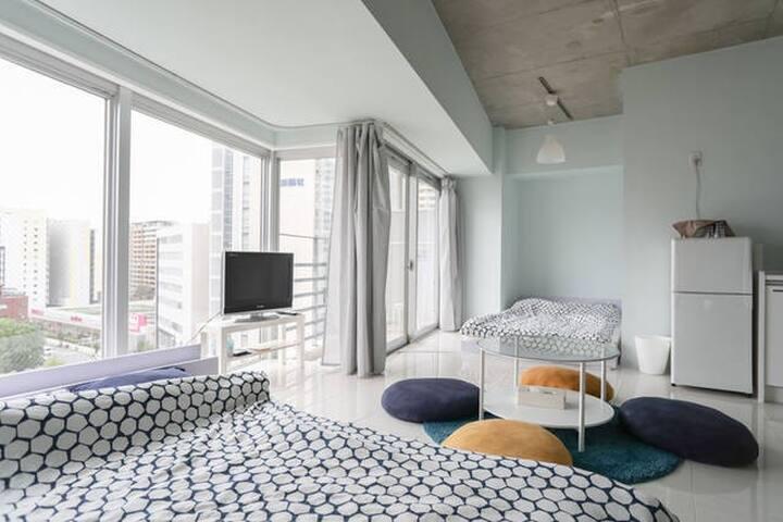 是9 NEW! Modern room! 5 min Dotonbori JR Namba 1min - Naniwa-ku, Ōsaka-shi