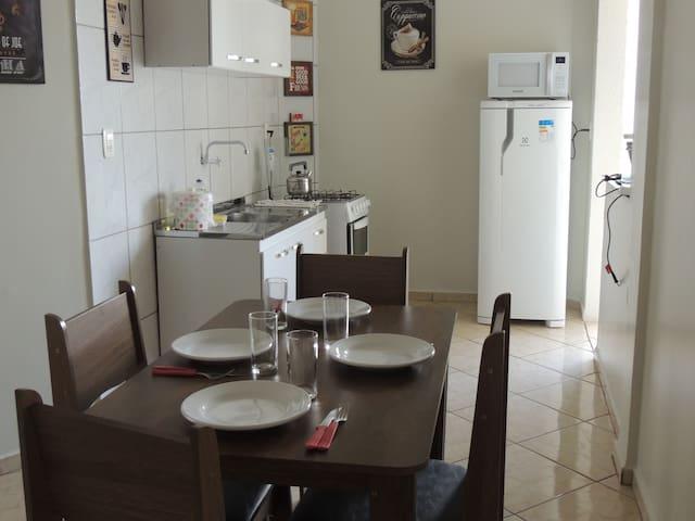 Apartamento Completo Mobiliado com garagem Chapecó