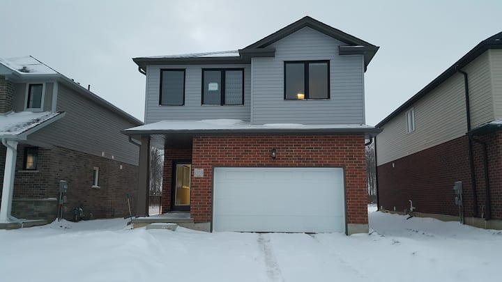Brand new basement apartment in a new house