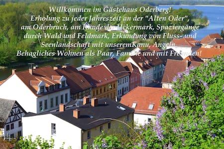 Gästehaus Oderberg am Oderbruch - Oderberg - Apartment