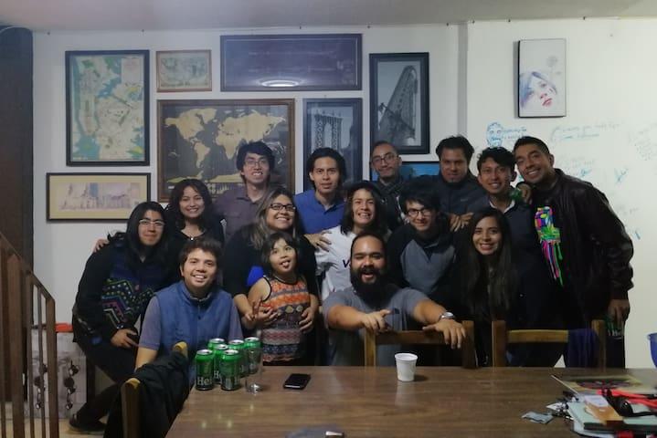 Base Camp México ! en el mero centro de Orizaba!