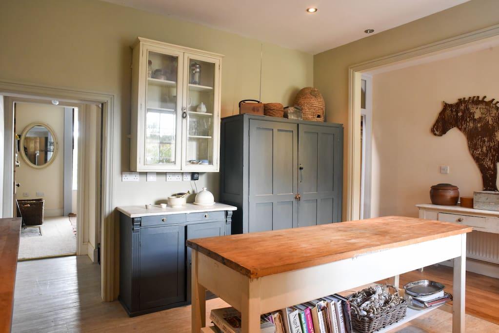 Ground Floor: Unfitted kitchen