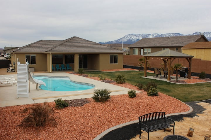 New Home near Zions-Pool, Slide & Gazebo