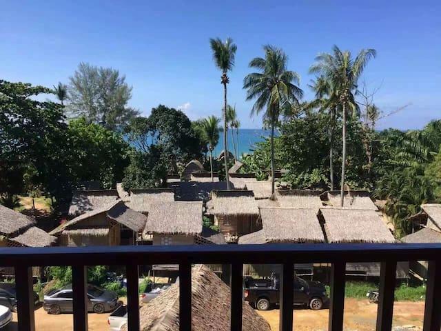 Deluxe sea and pool view - Ko Lanta Yai - Apartament