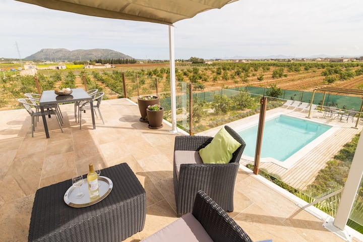 Tastefully decorated finca with pool in Sa Pobla