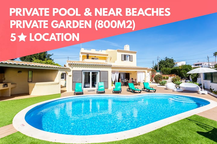 IDEAL FOR FAMILIES, POOL & GARDEN, NEAR BEACHES