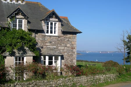 Old Coastguard Cottage with panoramic views - Manaccan - Hus