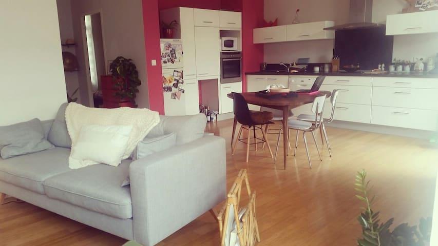 Bel Apptmt spacieux centre ville - Perpignan - Byt