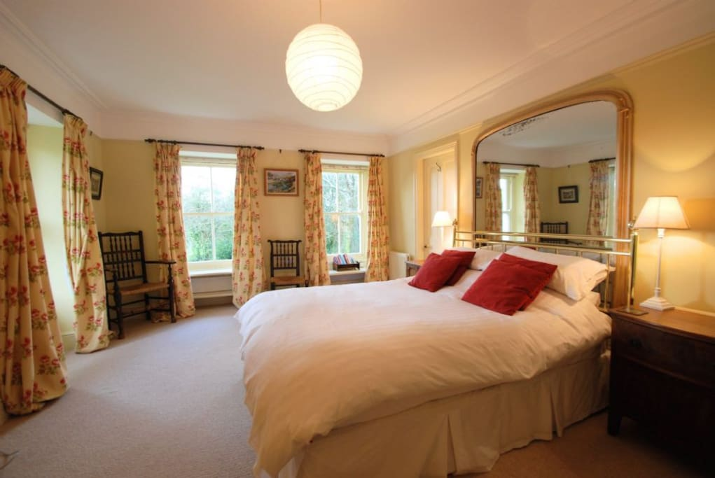 Bedroom: Mor Edrin in Talsarnau Lleyn Peninsula