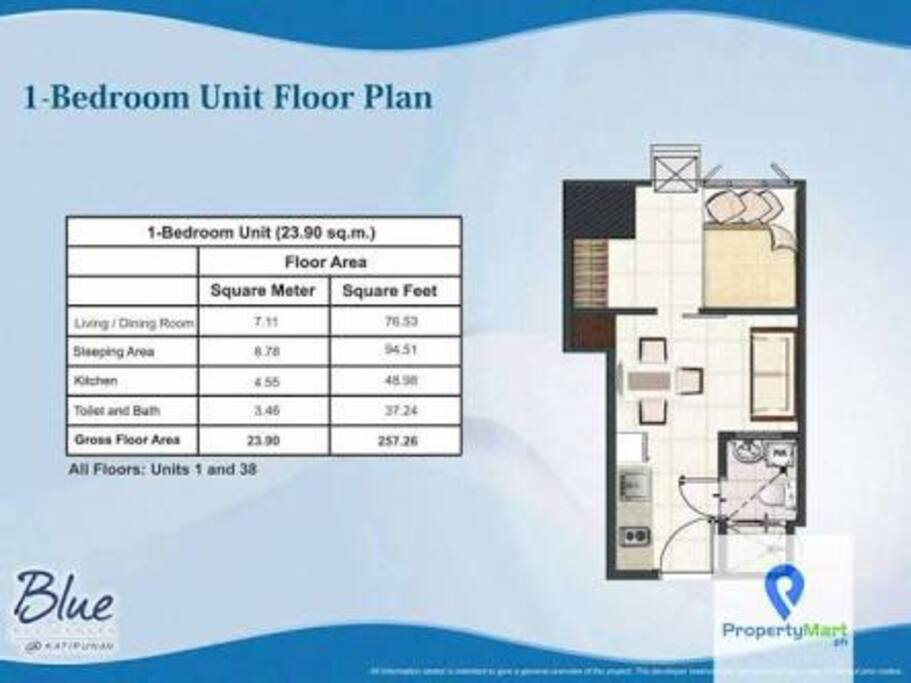 Floor plan. Grabbed from Google