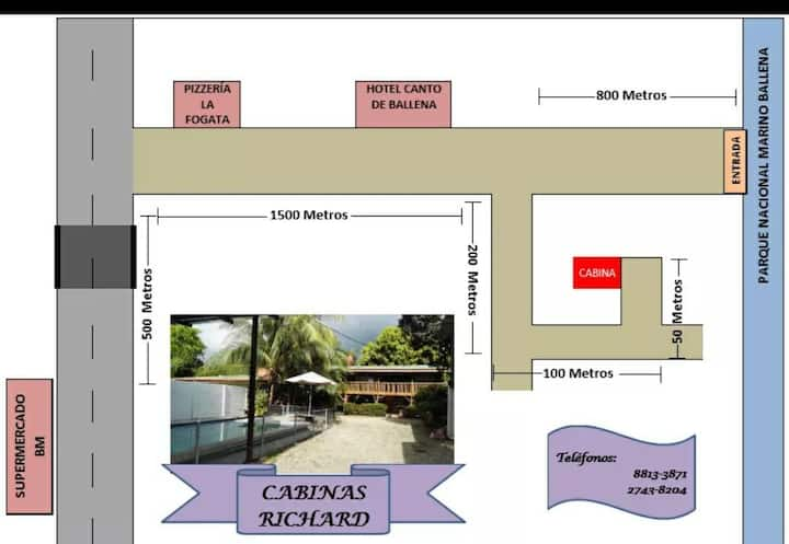 Habitación  MACAWS en Casa de playa Richard