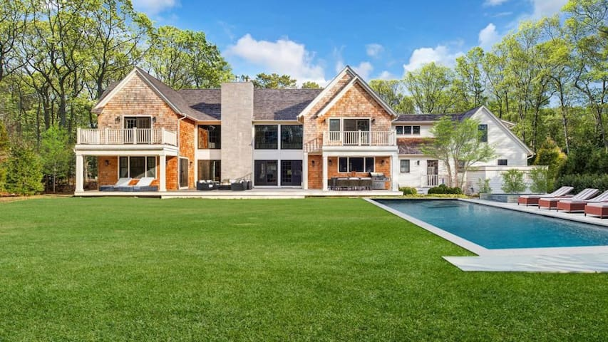 New Listing: Carefully Curated Light Filled Home, Near Town, Beach & Georgica Pond w/ Pool, Hot Tub