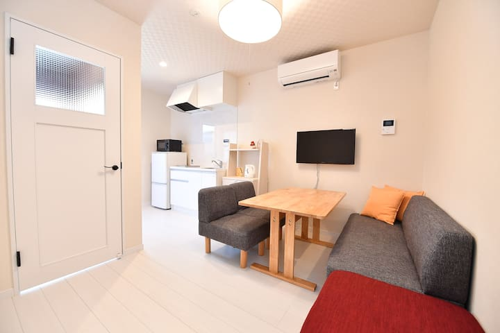 Private Family House・Free PickUP+Bicycle+Wifi