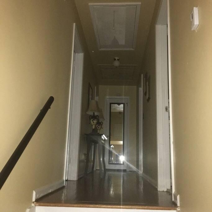 A short stairway