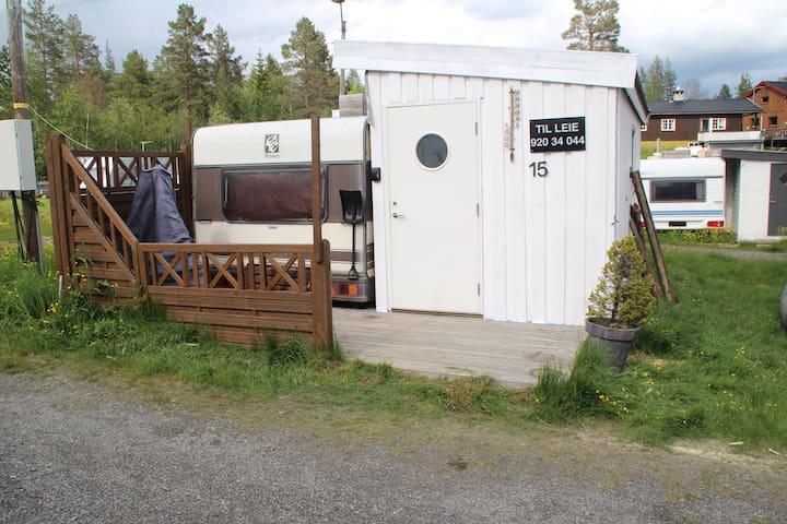 Blåberg camping, Blefjell, cabin no 15