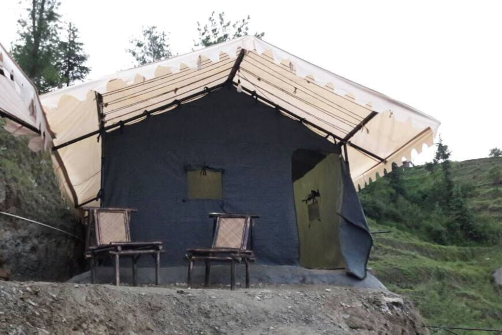 Swiss Tents with private washroom