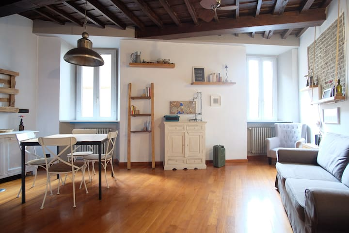 Lovely Rhome, historic house near Navona square