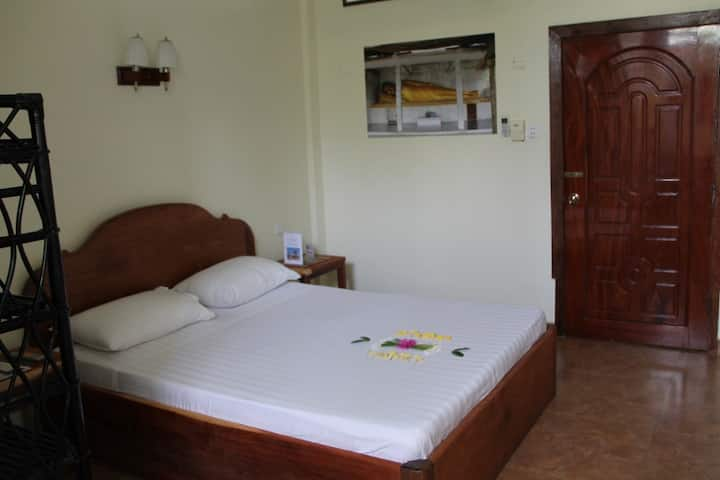Simple room for two in Battambang