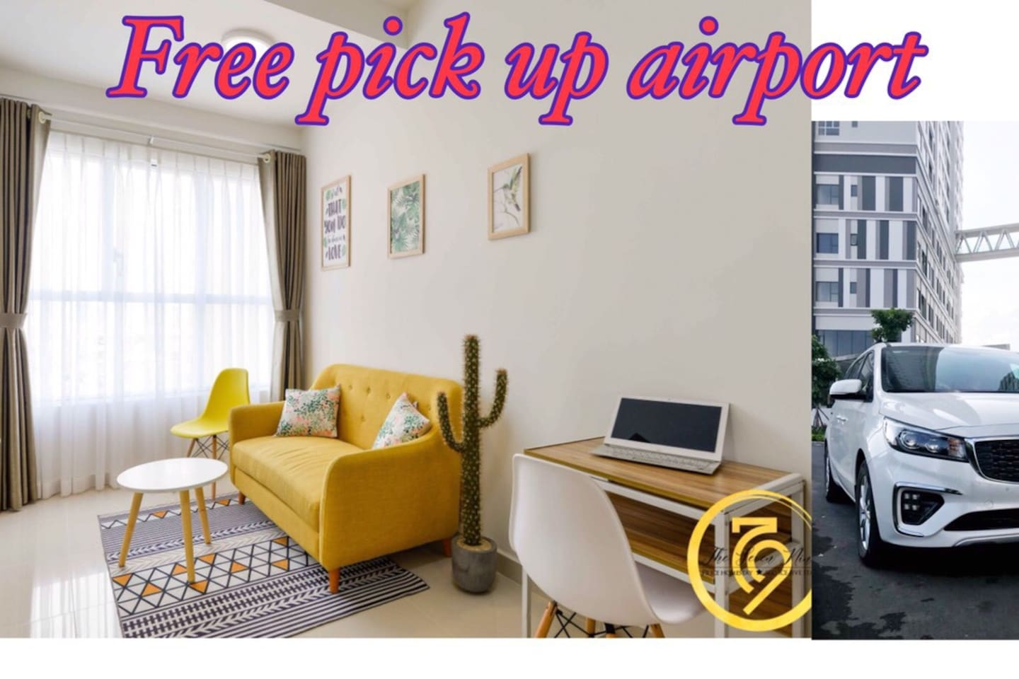 when u had booked,please sent me for flight information. we ll pick up you free