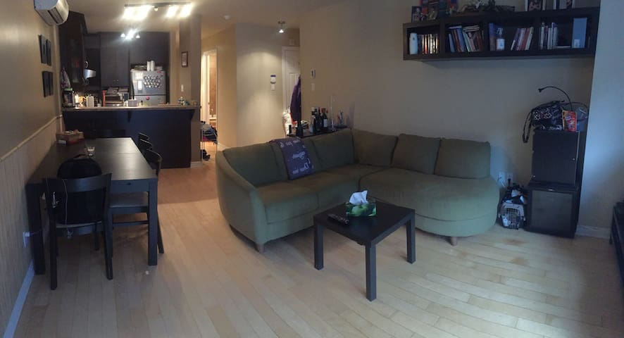 Great Montreal's condo for 2 or 3 - Montréal - Appartement