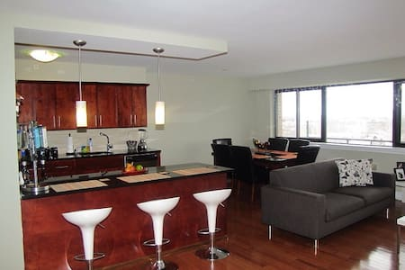 Luxury 1BR Penthouse Condo - East Orange - Apartamento