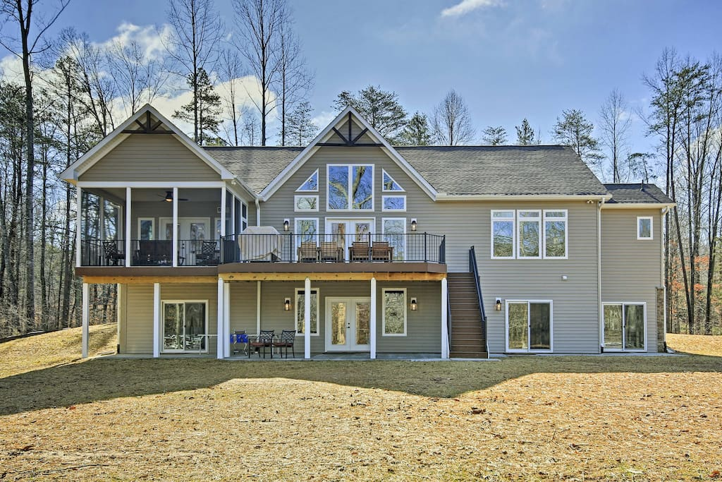 This home accommodates up to 18-24 guests with 6 spacious bedrooms and 4.5 baths.