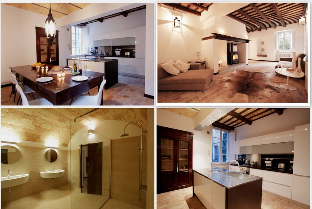 Collage of Rooms