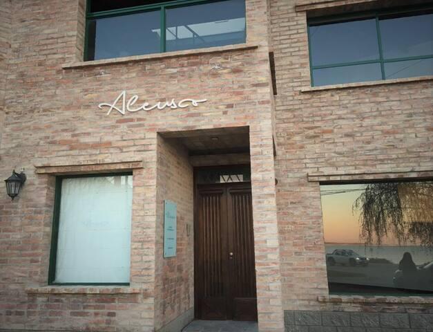 Pequeño hotel boutique en la Patagonia Argentina