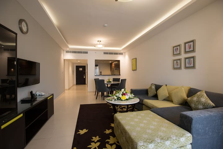 Brand new hotel apartment behind Mall Of Emirates
