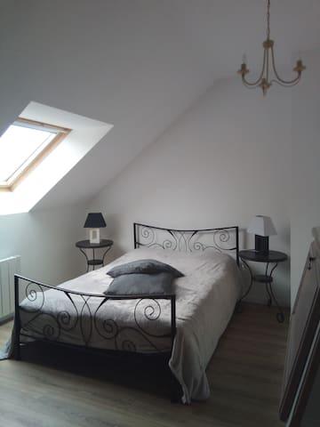 Chambre/douche/kitchenette dans cadre charmant