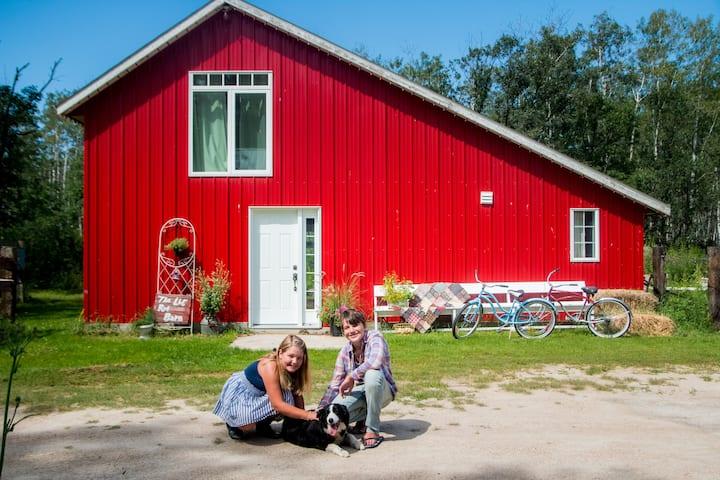 The Lil Red Barn B&B
