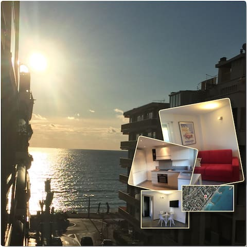 200m from the beach btw Menton & Monaco + parking - Roquebrune-Cap-Martin - Apartment