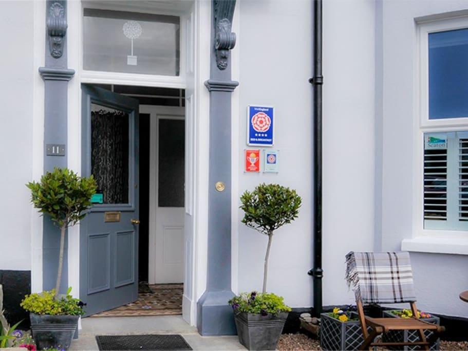 Front Door to Bay Tree House