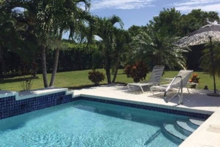 Pool and Nature Serenity - only minutes from town - Palm Beach Gardens - House