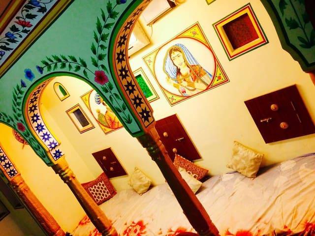 Art & culture lover stay@heritage khandaka mahal