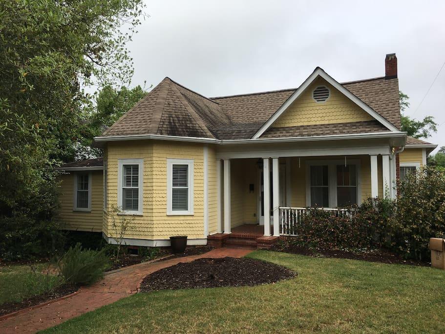 Downtown Historic 3 Bedroom Cottage In Aiken Houses For Rent In Aiken South Carolina United