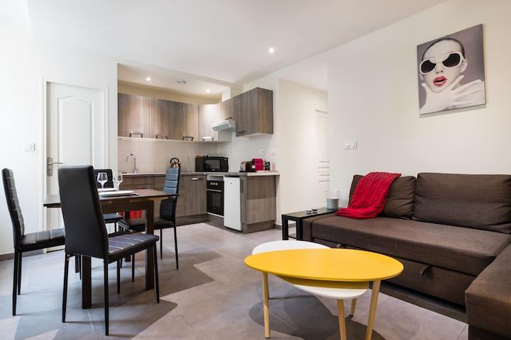 Appartement spacieux au coeur de la Bastille