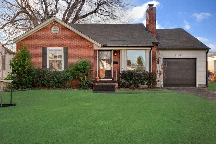 Charming Midtown Home near Fairgrounds/TU/Downtown