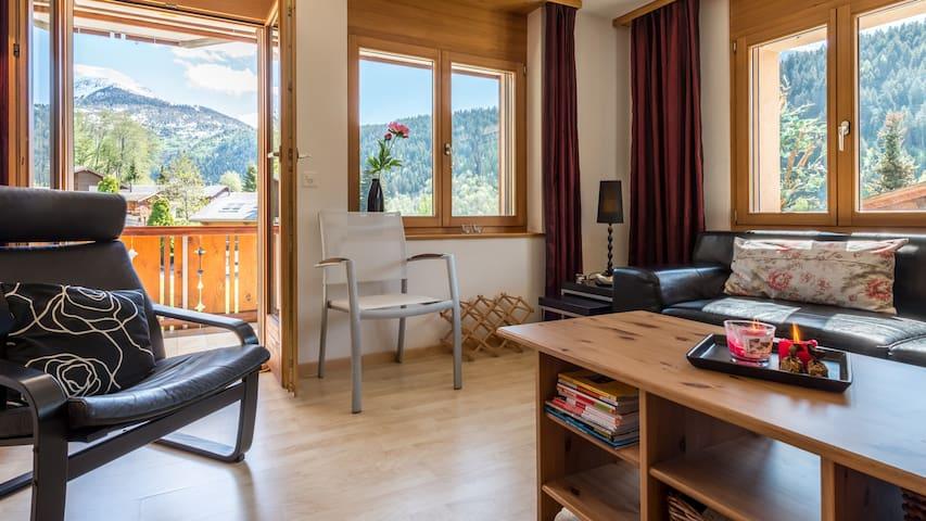 Moderne Ferienwohnung in Fiesch, Zentrum - Fiesch - Apartment