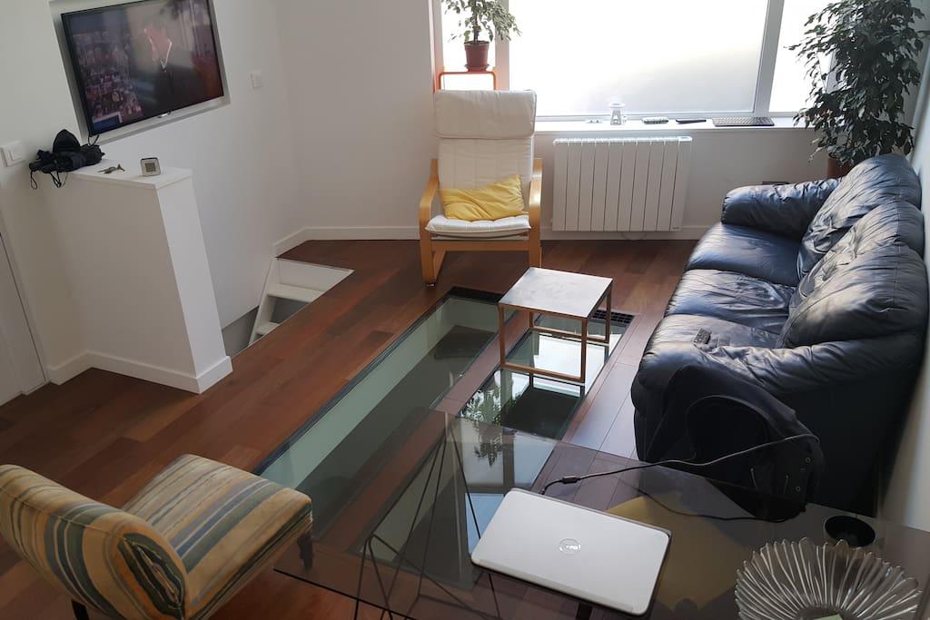 Bel appartement type loft lofts louer paris le de for Appartement type loft