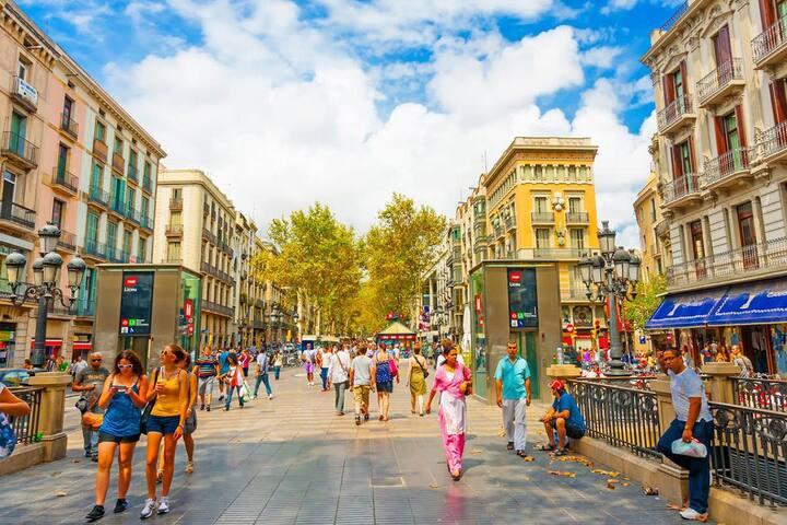 Barcelona en el Centro - 1
