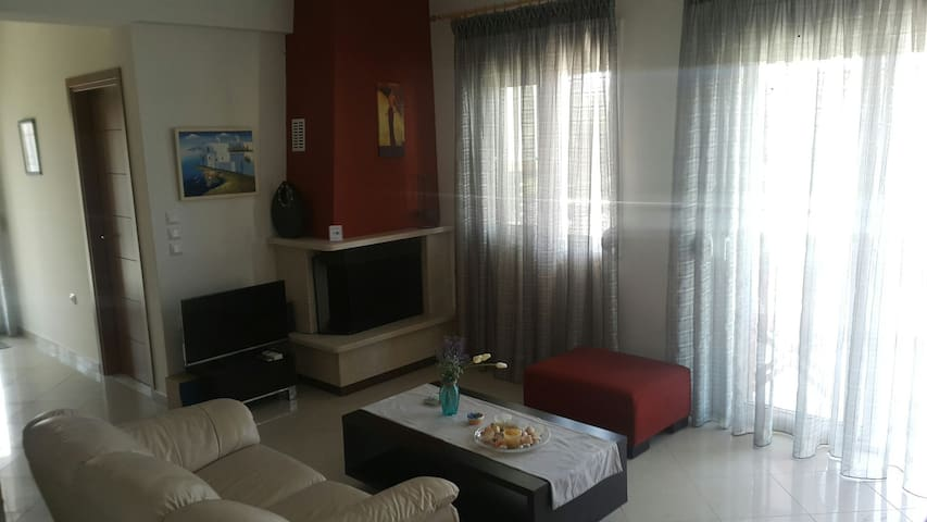 Leptokarya Modern Centrally Located Flat 65m2