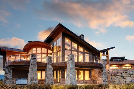 Brand new modern 5bed 5.5 bath mountain side home! Abode on Northgate!! - Park City - House