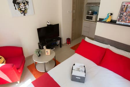 ❤ Newly renovated romantic studio Tsim Sha Tsui ❤