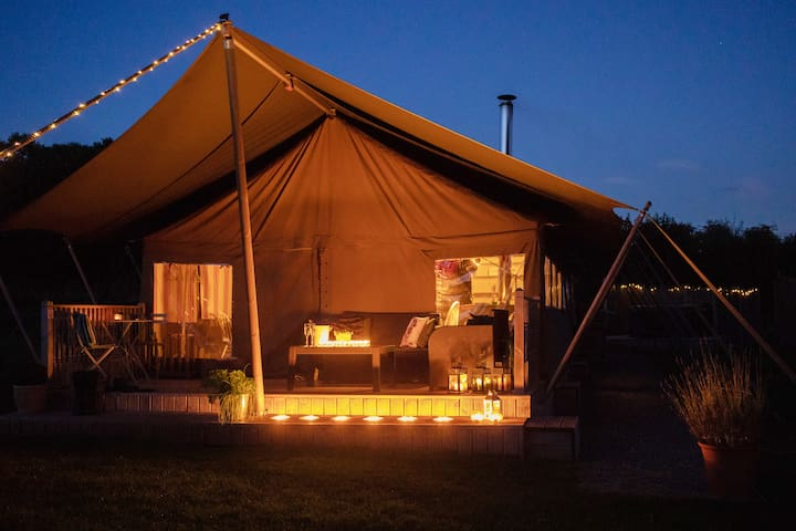 Seven Hills Hideaway - Luxury Glamping Wales